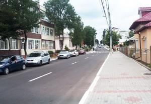 Program vast de asfaltări pe străzile din Roman