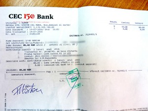 Transferul bancar reprezintă o cheltuială suplimentară