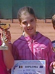 Ilinca Amariei, locul al treilea la Cupa Conest
