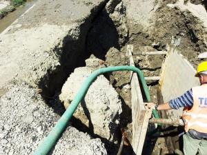 Lucrări dificile în cartierul Petru Rareş