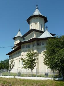 Biserica ce poartă hramul Adormirea Maicii Domnului, din Moldoveni