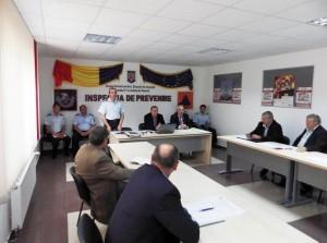 Primarii participă la cursuri de pregătire pentru situații de urgență