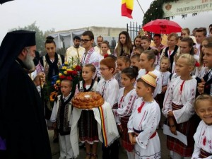 """Biserica """"Sfântul Gheorghe"""" din Ghidion a fost resfințită"""
