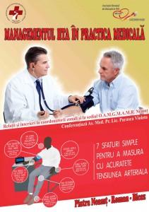 Conferință pentru asistenții medicali, despre hipertensiunea arterială