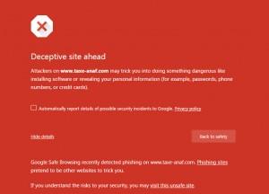 Fiscul avertizează în privința unui site fals al ANAF