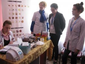 Romaşcanii au fost testați gratuit pentru diagnosticarea diabetului