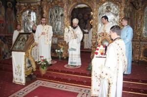 Episcopul Europei de Nord, în vizită la Roman
