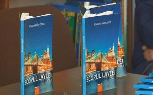 """Lansare de carte a unei eleve din Săbăoani: """"Scopul Laylei"""""""