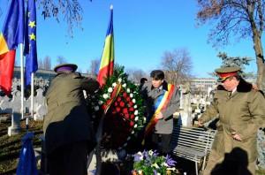 Comemorarea Revoluției din '89, la mormântul lui Fănel Ciupitu