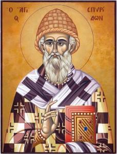 """Sfântul Spiridon, cinstit la Biserica """"Precista Mare"""""""