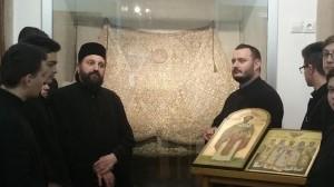 Viitorii preoți, în vizită la muzeul Centrului Eparhial