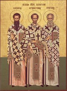 Creştinii ortodocşi îi sărbătoresc pe sfinții Trei Ierarhi