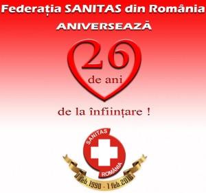 Sanitas a împlinit 26 de ani de activitate